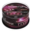 MediaRange CD-R 700 MB CD-Rohlinge 50er Spindel