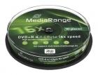 MediaRange DVD+R 4,7 GB 10er Spindel