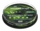 MediaRange DVD-R 4,7 GB 10er Spindel