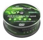 MediaRange DVD-R 4,7 GB 25er Spindel