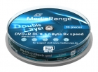 MediaRange DVD+R 8,5 GB 10er Spindel