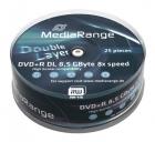 MediaRange DVD+R 8,5 GB 25er Spindel