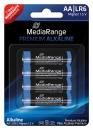 MediaRange Alkaline Batterie AA - 4 Stück