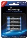 MediaRange Alkaline Batterie AAA - 4 Stück