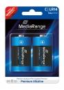 MediaRange Alkaline Batterie Baby-C - 2 Stück