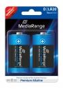MediaRange Alkaline Batterie Mono-D - 2 Stück