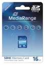 MediaRange SDHC Speicherkarte 16 GB Class 10