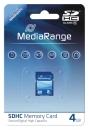 MediaRange SDHC Speicherkarte 4 GB Class 10