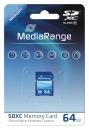 MediaRange SDXC Speicherkarte 64 GB Class 10