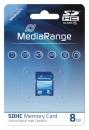 MediaRange SDHC Speicherkarte 8 GB Class 10