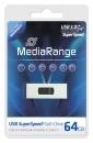 MediaRange USB Stick 3.0 64 GB Silber