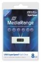 MediaRange USB Stick 3.0 8 GB Silber
