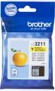 Original Brother Patronen LC3211-Y