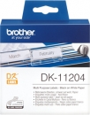 Original Brother Mehrzweck-Etiketten DK-11204 Label