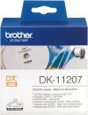 Original Brother CD/DVD-Etiketten DK-11207 Label