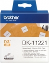Original Brother quadratische Etiketten DK-11221 Label