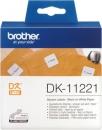 Original Brother quadratische Etiketten DK-11221 Label