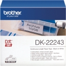 Original Brother Endlos-Etikett DK-22243 Tape