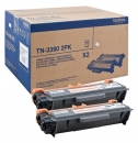 Original Brother Toner TN-3390 Doppelpack Schwarz