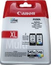 Original Canon Patronen PG-545 XL + CL-546 Set