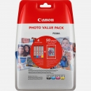 Original Canon Patronen CLI-571 Photo Value Pack + Papier