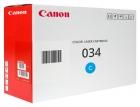 Original Canon Toner 034 / 9453B001 Cyan