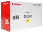 Original Canon Toner CRG 045H / 1243C002 Gelb