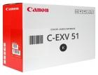 Original Canon Toner C-EXV 51 / 0481C002 Schwarz