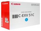 Original Canon Toner C-EXV 51C / 0482C002 Cyan