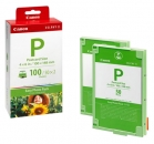 Original Canon Patronen E-P100  1335B001 Easy Photo Pack + Papier 100x148mm