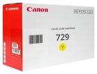 Original Canon Toner 729 Y / 4367B002 Gelb