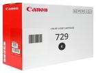 Original Canon Toner 729 BK / 4370B002 Schwarz