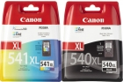 Original Canon Tintenpatronen PG-540 XL + CL-541 XL Set