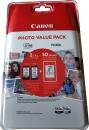 Original Canon Patronen PG-545 XL + CL-546 XL  Set + 50 Blatt Fotopapier