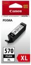 XL Original Canon Patronen PGI-570BK Pigment-Schwarz