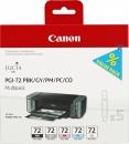Original Canon Patronen PGI-72 6403B009  MBK/C/M/Y/R Set