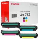 Set 4x Original Canon Toner 732H+732