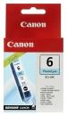 Original Canon Patronen BCI 6PC 4709A002AA Foto Cyan
