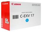 Original Canon Toner C EXV 17 Cyan