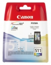 Original Canon Patronen CL 511 2972B001AA Color