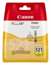 Original Canon Patronen CLI 521Y 2936B001AA Gelb