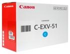 Original Canon Toner C-EXV 51 L C 0485C002 Cyan