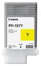Original Canon Tintenpatrone PFI107Y / 6708B001 Gelb