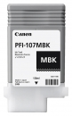 Original Canon Tintenpatrone PFI107MBK / 6704B001 Mattschwarz