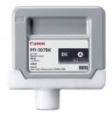 Original Canon Tintenpatrone PFI-307BK / 9811B001 Schwarz