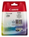 Druckerpatronen Canon PG40 + CL41