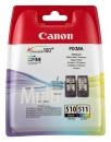 Original Canon Patronen PG 510 + CL 511