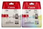 Original Canon Patronen PG 512 + CL 513 Multipack