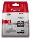 2 x XL Original Canon PG-512 Druckerpatronen Schwarz Doppelpack