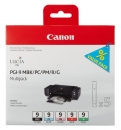 Original Canon Set 1033B011 / 5x Druckerpatronen PGI-9 (MBK/PC/PM/R/G)